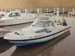 Yamaha Fish 22. длина 7,20м., двигатель подвесной, 1,00л.с., бензин