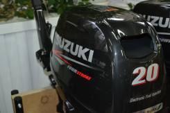 Suzuki. 20,00л.с., 4х тактный, бензин, нога S (381 мм), Год: 2015 год