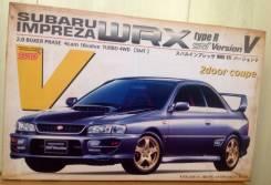 Редкая сборная модель Subaru Impreza WRX STI. +Подарок