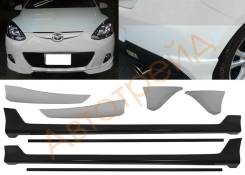 Обвес кузова аэродинамический. Mazda Mazda2 Mazda Demio, DE3FS, DE3AS, DE5FS