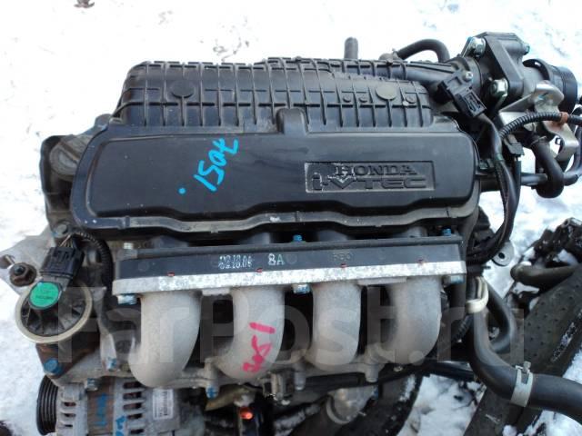 Двигатель в сборе. Honda Fit, GE9, GE8, GE6, GE7 Двигатель L13A