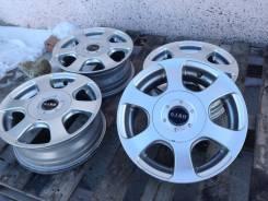 Bridgestone. 5.0x13, 4x100.00, 4x114.30, ET32, ЦО 73,1мм.