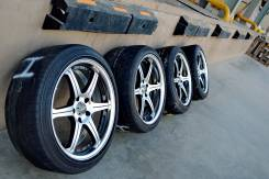 Bridgestone. 8.5/9.5x18, 5x114.30, ET44/42