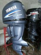 Yamaha. 225,00л.с., 4х тактный, бензин, нога X (635 мм), Год: 2008 год