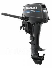 Suzuki. 9,90л.с., 2х тактный, бензин, нога S (381 мм), Год: 2016 год
