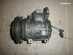 Компрессор кондиционера. Kia Spectra Двигатель S6D