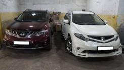 Обвес кузова аэродинамический. Nissan Murano, Z51R, Z51