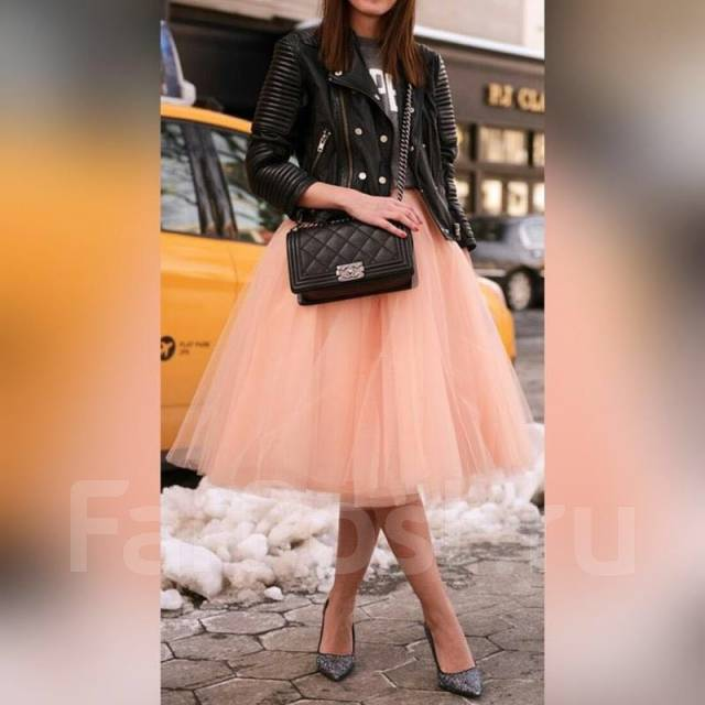 Фото юбки из еврофатина