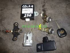 Замок. Toyota Celica, ZZT231, ZZT230 Двигатели: 2ZZGE, 1ZZFE
