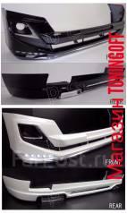 Обвес кузова аэродинамический. Toyota Land Cruiser Toyota Land Cruiser Prado, GDJ150, GDJ150L, GDJ150W, GDJ151W, GRJ150, GRJ150L, GRJ150W, GRJ151W, KD...