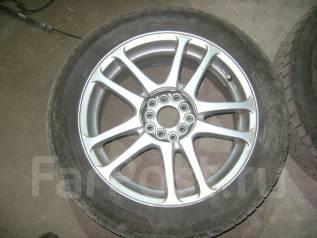 Комплект колес 215/55/17 +зима, отправим, ProAuto25, №25. 7.0x17 5x100.00, 5x114.30 ET48