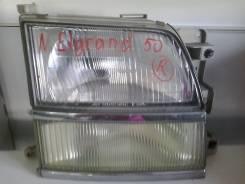 Фара. Nissan Elgrand, E51, 50 Двигатель VQ25DE