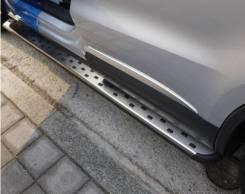Подножка. Volkswagen Tiguan