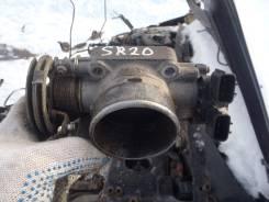 Заслонка дроссельная. Nissan Primera Camino, WHP11 Двигатели: SR20VE, SR20DE