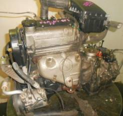 Двигатель в сборе. Suzuki: Kei, Ignis, Wagon R, Cara, Cappuccino, Carry, Carry Truck, Cervo Mode, Cervo, Alto, Works, Jimny, Every Двигатель F6A. Под...