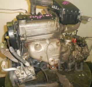 Двигатель в сборе. Suzuki: Alto, Every, Kei, Ignis, Carry Truck, Cappuccino, Cara, Cervo, Wagon R, Works, Jimny Двигатель F6A. Под заказ