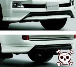 Обвес кузова аэродинамический. Toyota Urban Cruiser Toyota Land Cruiser, UZJ200W, VDJ200, J200, URJ202W, URJ202, UZJ200 Двигатели: 1VDFTV, 3URFE, 1URF...