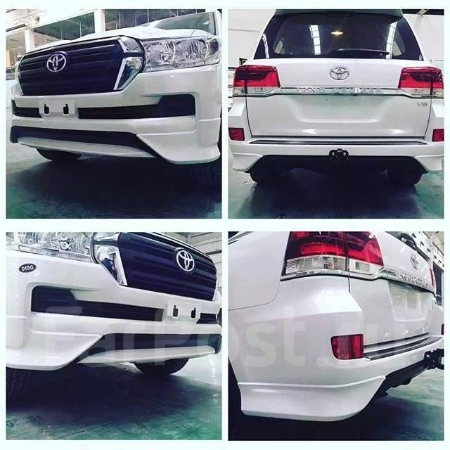 Обвес кузова аэродинамический. Toyota Land Cruiser, VDJ200, J200, UZJ200W, URJ202W, URJ202, UZJ200 Toyota Urban Cruiser Двигатели: 2UZFE, 3URFE, 1URFE...