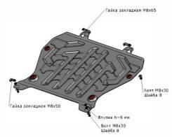 Защита двигателя. Nissan Juke