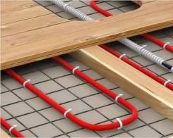 Теплый пол, электрический, водяной, кабель для обогрева канализации.