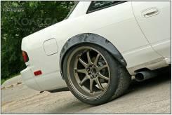 Расширитель крыла. Nissan Silvia Nissan Skyline Nissan Cefiro Nissan Laurel Toyota Cresta Toyota Mark II Toyota Chaser. Под заказ