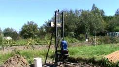Стройдормаш УБМ-85. Малогабаритная буровая установка на воду, 4 000 куб. см.