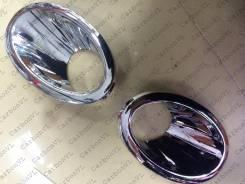 Накладка на фару. Nissan Dualis, J10 Nissan Qashqai, J10, J10E