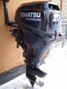 Tohatsu. 20,00л.с., 4х тактный, бензин, нога S (381 мм), Год: 2013 год