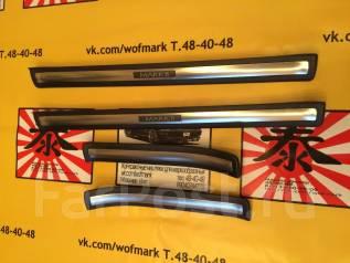 Порог пластиковый. Toyota Mark II