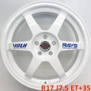 RAYS VOLK RACING. 7.5x17, 5x114.30, ET35, ЦО 73,1мм.