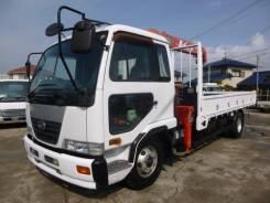 Nissan Diesel Condor. Грузовик с манипулятором Nissan Condor UD, 6 920куб. см., 5 000кг. Под заказ