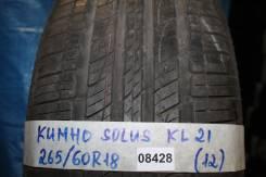 Kumho Solus KL21. Летние, 2012 год, износ: 20%, 1 шт