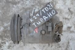 Компрессор кондиционера. Nissan Terrano II, K24 Двигатель TD27