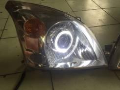 Фары Прадо 120 тюнинг, биксеноновых линзы, ангельские глазки. Toyota Land Cruiser Prado