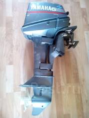 Yamaha. 6,00л.с., 2х тактный, бензин, нога S (381 мм), Год: 1996 год