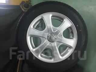 Комплект шин на литье Dunlop 175 65 R14. Japan. Летние.4x100.4x114.3. x14 4x100.00, 4x114.30