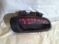 Ручка двери внешняя. Toyota Caldina, ET196
