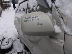 Зеркало заднего вида боковое. Toyota Highlander, MCU25