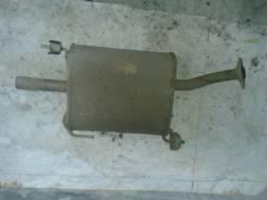 Глушитель. Nissan Almera Classic Nissan Almera Двигатель QG16