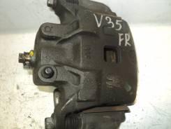 Суппорт тормозной. Nissan Stagea, PNM35, PM35, NM35, M35 Nissan Skyline, HV35, V35 Двигатели: VQ25DD, VQ35DE, VQ30DD
