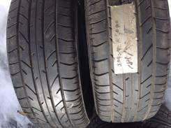 Bridgestone Potenza RE040. Летние, 2006 год, износ: 20%, 2 шт