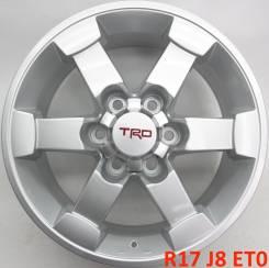 TRD. 8.0x17, 6x139.70, ET0, ЦО 110,1мм.