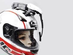 Дворники для шлема.