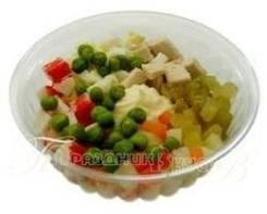 Салат «Столичный» (Готовые обеды)