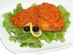 Рыба под маринадом (2 шт.) (Праздничное меню)