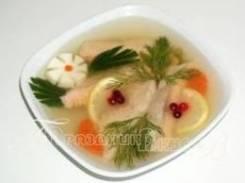 Заливная рыба (Праздничное меню)
