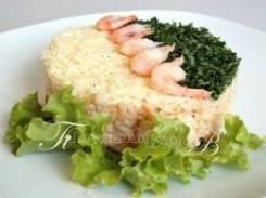 Ризотто с морепродуктами (Праздничное меню)