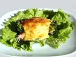 Рыба запеченная с овощами (Праздничное меню)