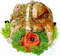 Цыплёнок табака (Праздничное меню)