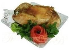 Курица фаршированная капустой и грибами (Праздничное меню)